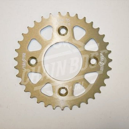 Sunstar 420 Rear Sprocket Triplestar Aluminum 35 Teeth Natural 5-106035