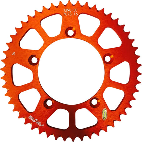 Sunstar 420 Rear Sprocket Aluminum 48 Teeth Orange 5-139048OR