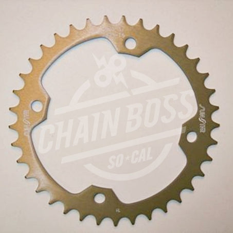 Sunstar 520 Rear Sprocket Triplestar Aluminum 37 Teeth Natural 5-354037
