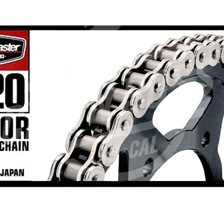 Bike Master 520 x 108 Links BMOR Series Oring Sealed Natural Drive Chain