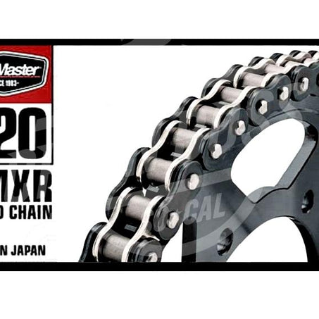 Bike Master 520 x 120 Links BMXR Series Xring Sealed Black/Chrome Drive Chain