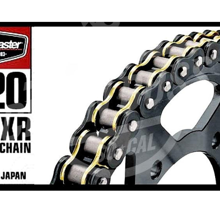 Bike Master 520 x 120 Links BMXR Series Xring Sealed Black/Gold Drive Chain