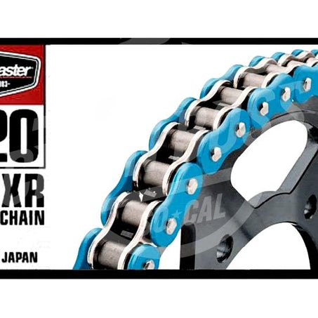 Bike Master 520 x 120 Links BMXR Series Xring Sealed Blue Drive Chain