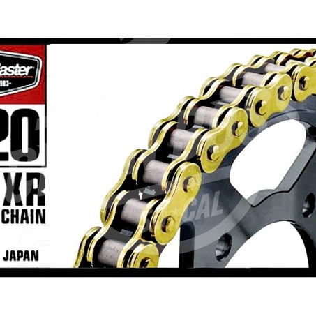 Bike Master 520 x 130 Links BMXR Series Xring Sealed Gold Drive Chain