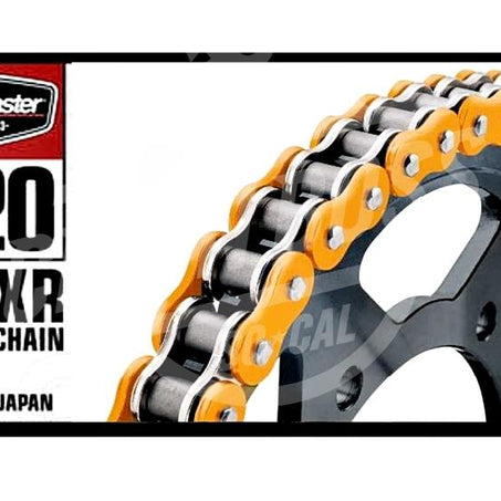 Bike Master 520 x 120 Links BMXR Series Xring Sealed Orange Drive Chain