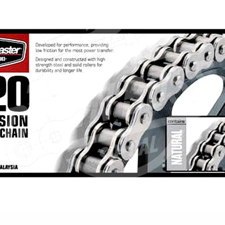 Bike Master 520 x 86 Links Standard Series  Non Oring Natural Drive Chain