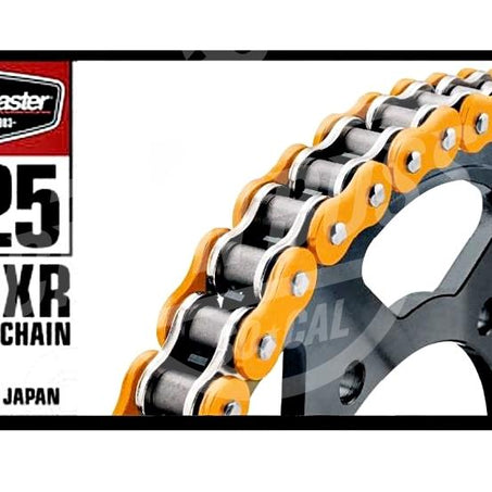 Bike Master 525 x 120 Links BMXR Series Xring Sealed Orange Drive Chain