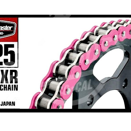 Bike Master 525 x 150 Links BMXR Series Xring Sealed Pink Drive Chain