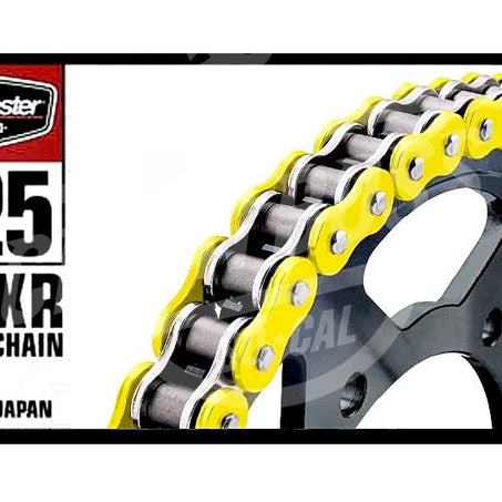 Bike Master 525 x 120 Links BMXR Series Xring Sealed Yellow Drive Chain