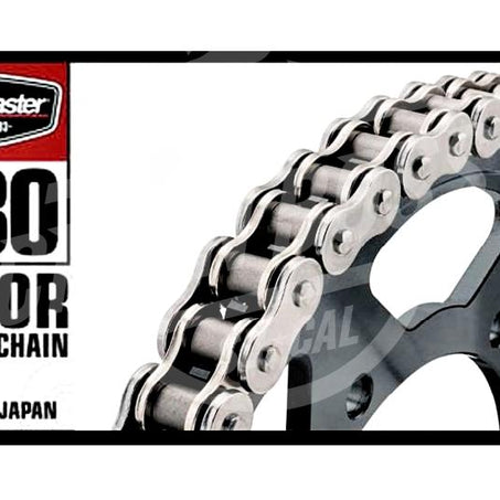 Bike Master 530 x 130 Links BMOR Series Oring Sealed Natural Drive Chain