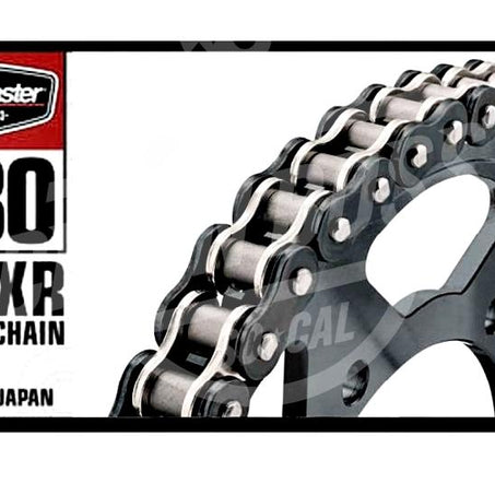 Bike Master 530 x 120 Links BMXR Series Xring Sealed Black/Chrome Drive Chain