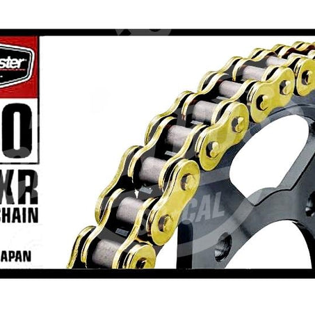 Bike Master 530 x 120 Links BMXR Series Xring Sealed Gold Drive Chain
