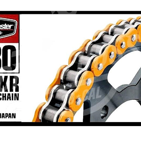 Bike Master 530 x 120 Links BMXR Series Xring Sealed Orange Drive Chain