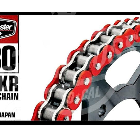 Bike Master 530 x 150 Links BMXR Series Xring Sealed Red Drive Chain