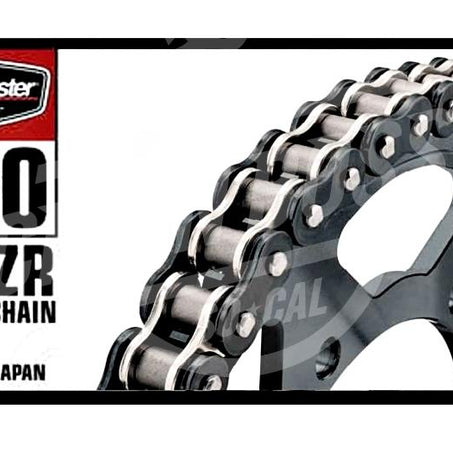 Bike Master 530 x 130 Links BMZR Series Xring Sealed Black/Chrome Drive Chain
