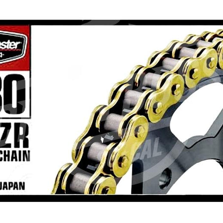 Bike Master 530 x 120 Links BMZR Series Xring Sealed Gold Drive Chain