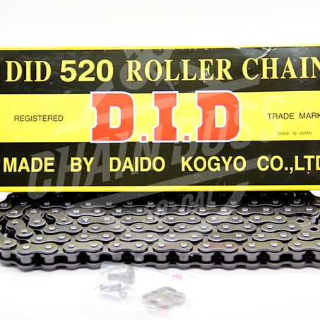 DID 520 x 114 Links Standard Series  Non Oring Natural Drive Chain - chainboss