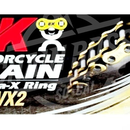 EK Chains 532 x 110 Links ZVX2 Ultimate Series Xring Sealed Natural Drive Chain