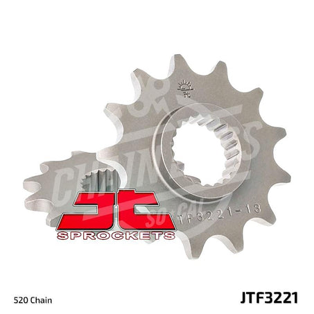 JT Sprockets 520 Front Sprocket Steel 11 Teeth Natural JTF3221.11