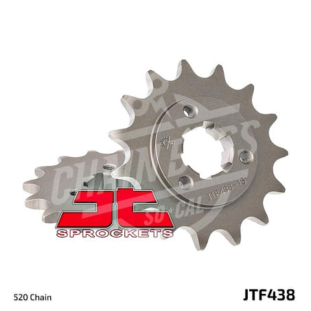 JT Sprockets 520 Front Sprocket Steel 14 Teeth Natural JTF438.14