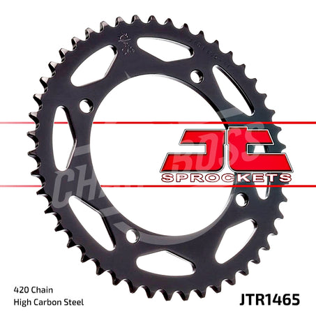 JT Sprockets 420 Rear Sprocket Steel 46 Teeth Silver JTR1465.46 - chainboss