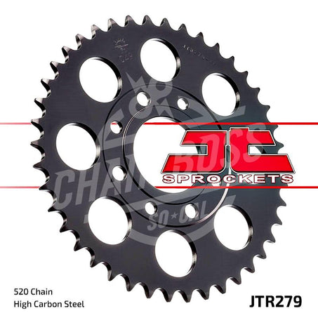 JT Sprockets 520 Rear Sprocket Steel 30 Teeth Black JTR279.30