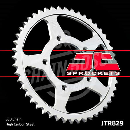 JT Sprockets 530 Rear Sprocket Steel 45 Teeth Silver JTR829.45