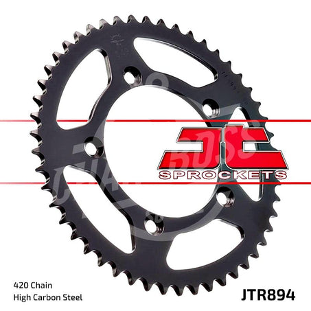 JT Sprockets 420 Rear Sprocket Steel 46 Teeth Silver JTR894.46
