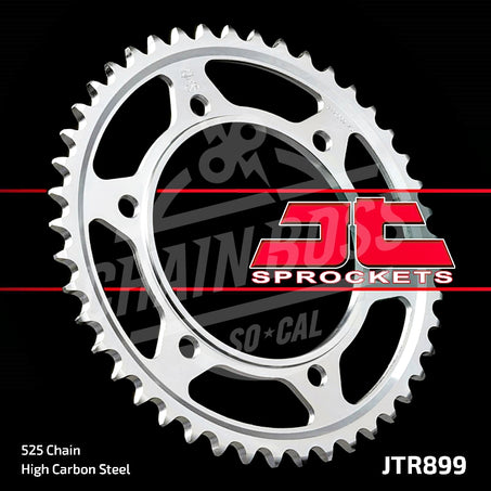 JT Sprockets 525 Rear Sprocket Steel 42 Teeth Silver JTR899.42 - chainboss