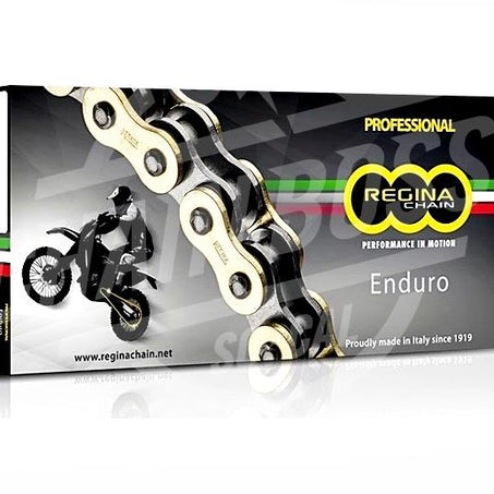 Regina 520 x 122 Links ZRE Series Xring Sealed Gold Drive Chain