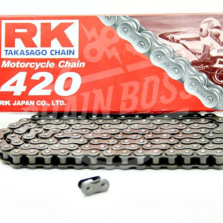 RK Chains 420 x 138 Links Standard Series  Non Oring Natural Drive Chain