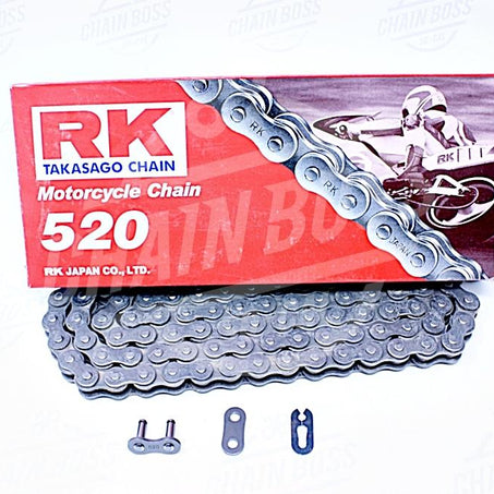 RK Chains 520 x 112 Links Standard Series  Non Oring Natural Drive Chain