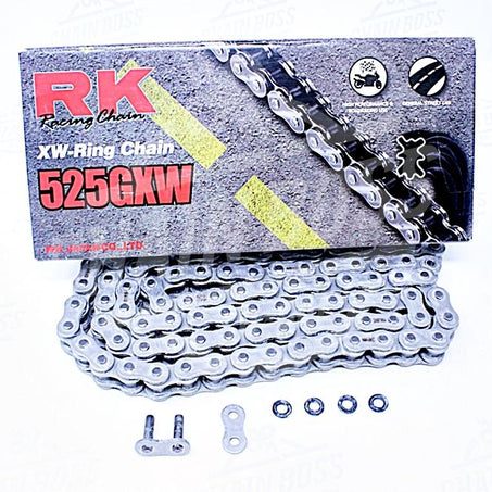 RK Chains 525 x 200 Links GXW Series Xring Sealed Natural Drive Chain