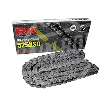 RK Chains 525 x 78 Links XSO Series Xring Sealed Natural Drive Chain