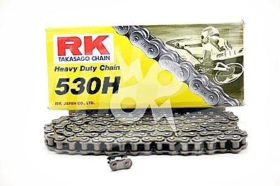 RK Chains 530 x 104 Links HD Standard Series  Non Oring Natural Drive Chain