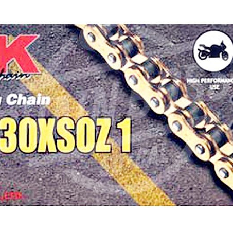 RK Chains 530 x 110 Links XSOZ1 Series Xring Sealed Gold Drive Chain