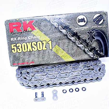 RK Chains 530 x 120 Links XSOZ1 Series Xring Sealed Natural Drive Chain