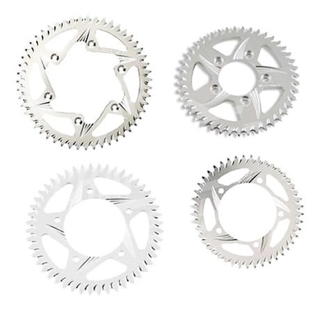 Vortex 415 Rear Sprocket Aluminum 42 Teeth Silver 312-42 - chainboss