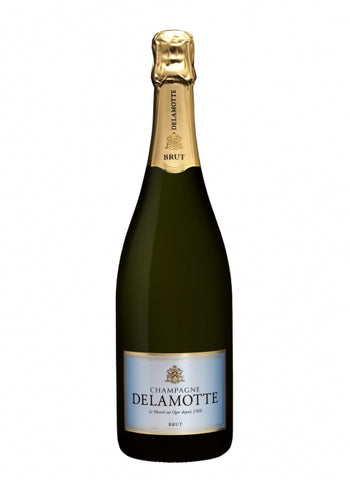 Delamotte : Brut NV - 12 x 37.5cl ($34.90 per half bottle)