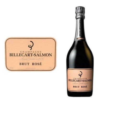 Billecart-Salmon : Brut Rose - 1 x 75cl ($114.80 per bottle)