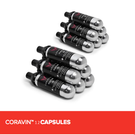 CORAVIN 12 CAPSULES (6 PACKS OF 2)