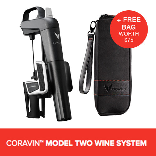 CORAVIN™ MODEL TWO WINE SYSTEM (Includes A Free Bag)