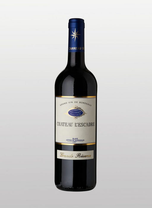 Chateau L'Escadre - Grande Reserve 2014, Bordeaux Blaye, 750 ml