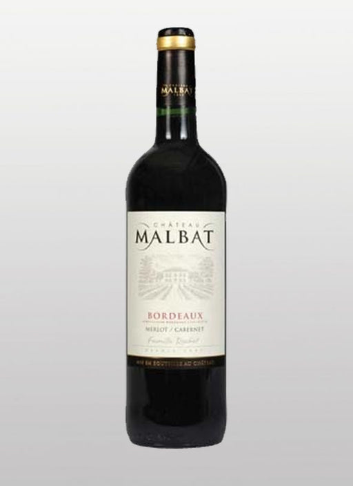 Chateau Malbat - Bordeaux - Merlot - Red Wine - 2016 - 750ml