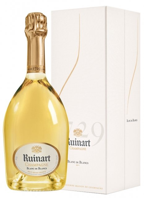 Champagne Ruinart Blanc de Blancs with Gift Box