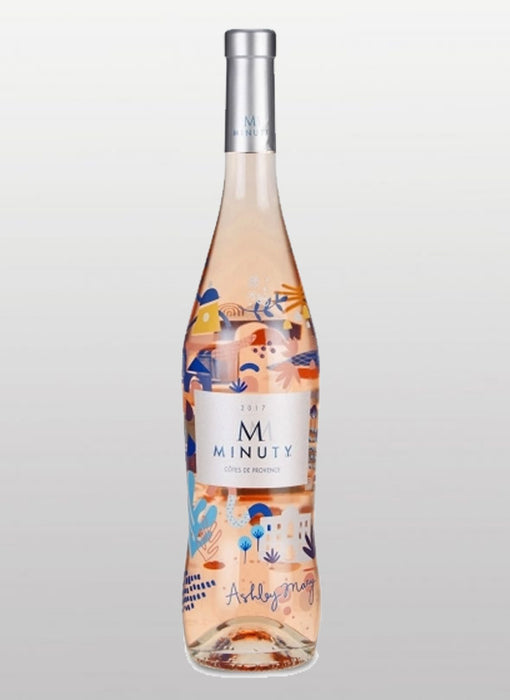 Minuty - M De Minuty Limited Edition Ashley Mary Rose 2017 - Cotes De Provence - 750 ml