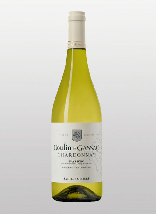 Moulin de Gassac - Chardonnay - White Wine - 2017 - 750 ml