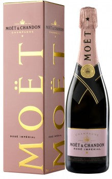Moet & Chandon : Brut Imperial Rosé with Gift Box - 1 x 75cl ($99.80 per bottle)