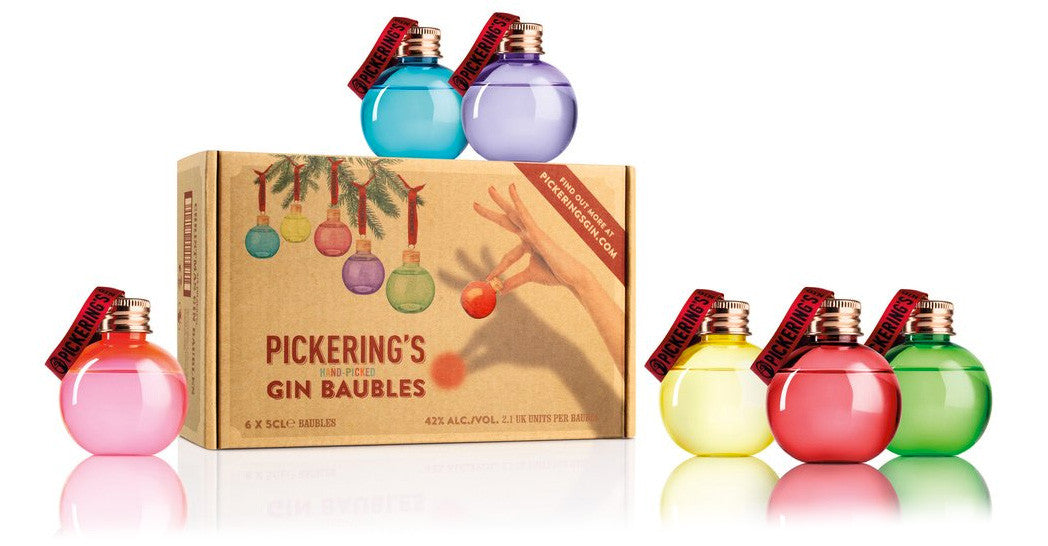 Pickering's Gin Filled Baubles