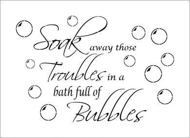 Soak Away Troubles